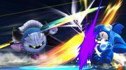 Meta Knight usando Capa dimensional contra Mega Man SSB4 (Wii U).jpg