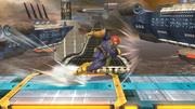 Ataque en carrera de Captain Falcon SSB4 (Wii U).png