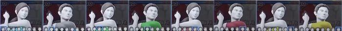 Paleta de colores Entrenadora de Wii Fit SSBU.jpg