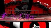 Ataque fuerte inferior de Joker (2) Super Smash Bros. Ultimate.jpg