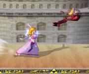 Lanzamiento delantero de Zelda (2) SSBM.png