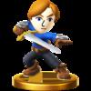 Trofeo de Espadachín Mii SSB4 (Wii U).png