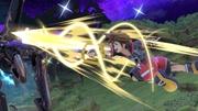 Sora usando Estocada veloz en Llanuras de Gaur SSBU.jpg