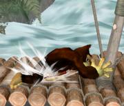 Ataque Smash lateral de Donkey Kong (2) SSBM.png