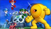 Créditos Modo Leyendas de la lucha Mega Man SSB4 (3DS).png