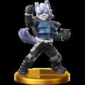 Trofeo de Wolf O'Donnell SSB4 (Wii U).png