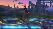Ataque Fuerte Hacia Arriba Bayonetta SSB Wii U.jpg