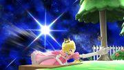 Ataque de recuperación desde el borde Peach SSB4 Wii U.jpg