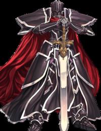 Art oficial del Caballero Negro en Fire Emblem Heroes