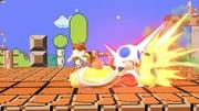 Daisy usando Toad en Reino Champiñon SSBU.jpg