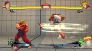 Ryu usando Tatsumaki Senpukyaku en Super Street Fighter IV.jpg