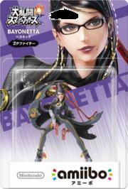 Embalaje del amiibo de Bayonetta - Jugador 2 (Japón).png