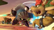 Meta Knight y Bowser en el Pueblo Smash SSBU.jpg