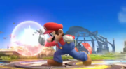 Ataque Smash lateral Mario Trailer Wii U SSB4.png