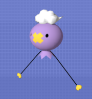 Pose T Drifloon SSBB.png