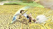 Ataque en carrera (animación 1) Pit SSB4 Wii U.jpg