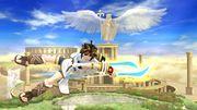 Ataque aéreo hacia atrás Pit SSB4 Wii U.jpg
