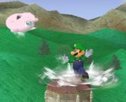 Lanzamiento trasero de Luigi (2) SSBM.png