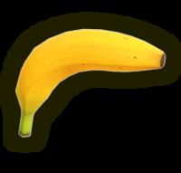 Art Oficial de la Pistola plátano en Super Smash Bros. Ultimate.