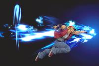 Vista previa de Burning Knuckle / Crack Shoot en la sección de Técnicas de Super Smash Bros. Ultimate