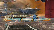 Fox, Captain Falcon y Megaman en Port Town Aero Dive SSB4 (Wii U).jpg