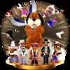 Trofeo de Banda NES Zapper SSB4 (Wii U).png