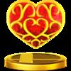 Trofeo de Contenedor de corazón SSB4 (Wii U).png