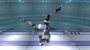 Ataque Smash hacia abajo Sheik SSBB (4).png