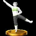 Trofeo de Entrenadora de Wii Fit U SSB4 (Wii U).png