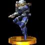 Trofeo de Sheik SSB4 (3DS).png