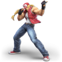 Art oficial de Terry en Super Smash Bros. Ultimate
