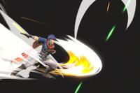 Vista previa de Espadazo en la sección de Técnicas de Super Smash Bros. Ultimate