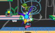 Lanzamiento hacia arriba de Wario (2) SSB4 (3DS).JPG