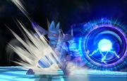 Lucario lanzando esfera aural SSBB.png