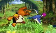 Ataque aéreo delantero de Dúo Duck Hunt SSB4 (3DS).jpg