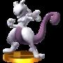 Trofeo de Mewtwo (peleador) SSB4 (3DS).png