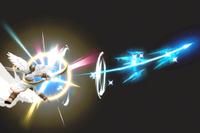 Vista previa de Arco de Palutena en la sección de Técnicas de Super Smash Bros. Ultimate