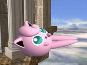 Ataque aéreo hacia adelante Jigglypuff SSBB.jpg