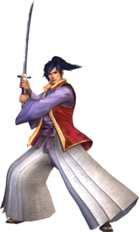 Art Oficial de Takamaru en Samurai Warriors 3
