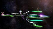 Palutena, Samus y Peach en la Estación espacial SSB4 (Wii U).jpg