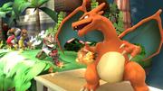 Créditos Modo Leyendas de la lucha Charizard SSB4 (Wii U).png