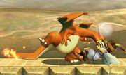 Lanzamiento hacia atras de Charizard (1) SSB4 (3DS).jpg