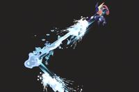 Vista previa de Hidrobomba en la sección de Técnicas de Super Smash Bros. Ultimate
