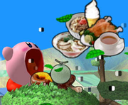 Kirby absorbiendo comida SSBM.png
