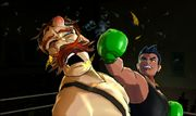 Little Mac haciendo un crochet en Punch-Out!! (Wii).jpg