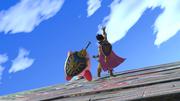 Kirby y Héroe en Altar de Yggdrasil SSBU.png