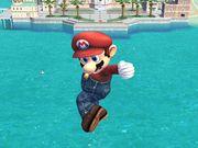 Ataque aéreo hacia abajo (1) Mario SSBB.jpg