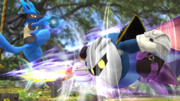 Meta Knight usando su Turbotaladro SSB4 (Wii U).png