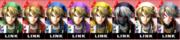 Paleta de colores de Link SSB4 (3DS).png