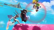 Tiro colmillo dragón Corrin (2) SSB4 (Wii U).png